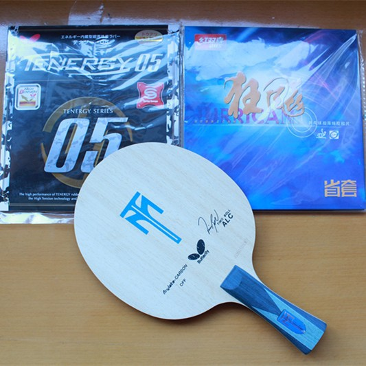 Butterfly Boll table tennis blade+DHS hurricane 3 rubber+butterfly rubber/table tennis rackets/table tennis bats/ping pong(China (Mainland))