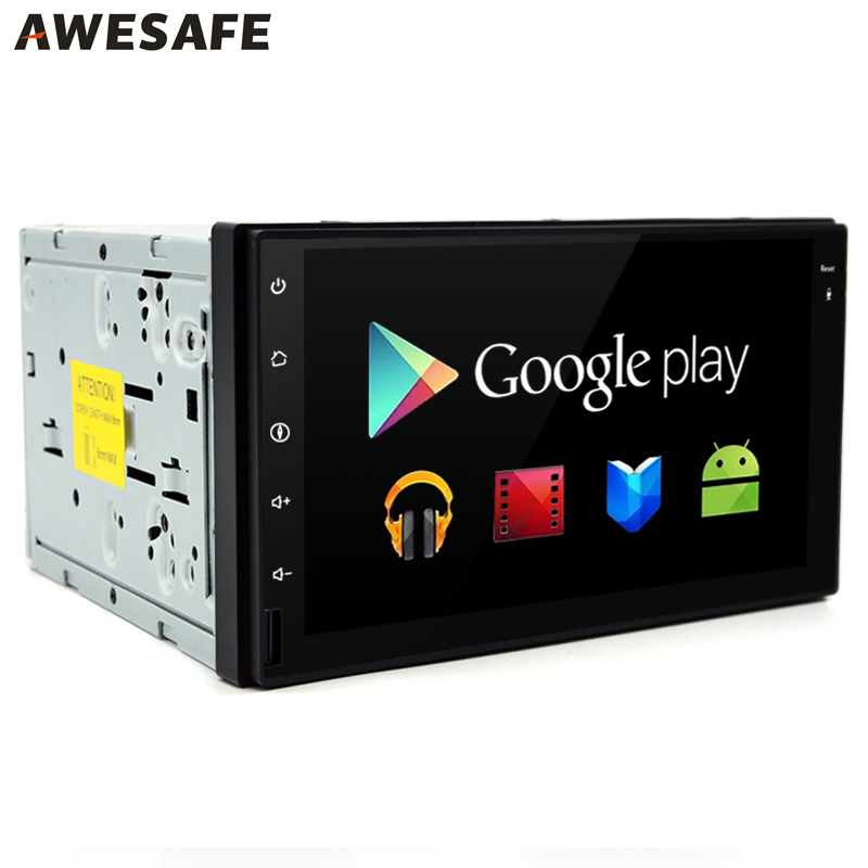 2 Din GPS Android 4.4 Car DVD Player Radio Stereo video 1024*600 with microphone Autoradio gps 2din Universale 3G/4G Double Din(China (Mainland))