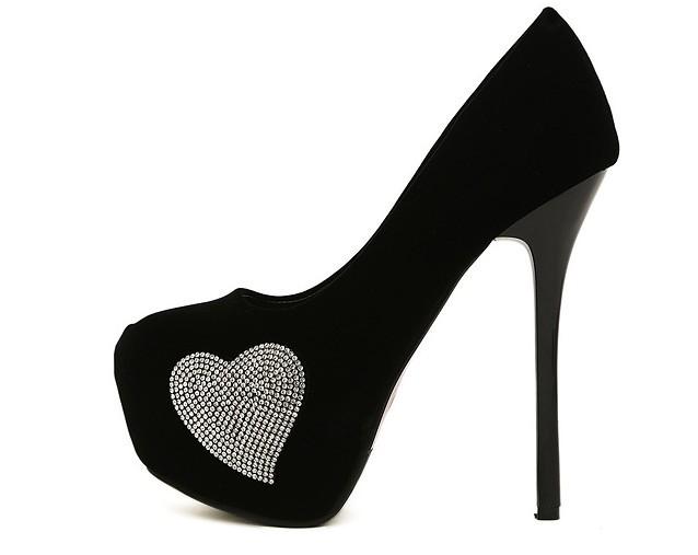 Black 5 Inch Heels