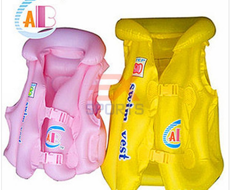 Swimming Inflatable Safety Life Jacket Children Kids Vest High Quality Retail Wholesale child survival jacket ES1195(China (Mainland))