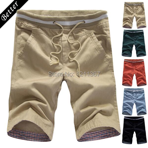 2015 Summer men sport shorts bermuda beach board casual shorts for men knee-length short(China (Mainland))