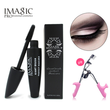 new Volume Express False Eyelashes Mascara Make Up Women Multi-functional Waterproof Mascara Cosmetic send gift eyelash curler(China (Mainland))