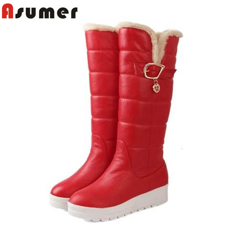 AISIMI2015 winter warm snow boots fashion round toe unique comfortable keep warm in winter high quality women boots             <br><br>Aliexpress