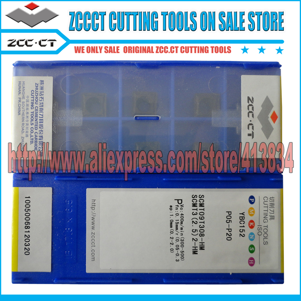 Free Shipping (40 inserts/Lot) SCMT 09T308-HM YBC152 ZCC.CT Cemented Carbide CNC Cutting Tools Turning Inserts(China (Mainland))
