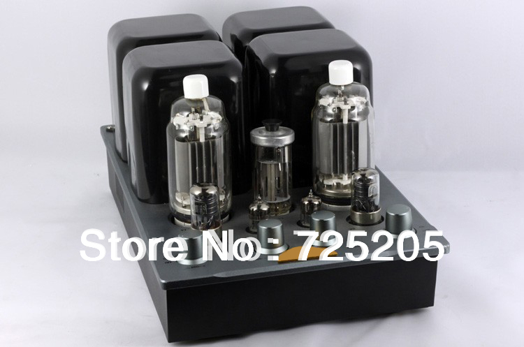 HIFI Tube Amplifier Dual Mono-block Integrated 50Wx2 Tube Rectifier Sound Field Control OTK6H1 & 6J4P