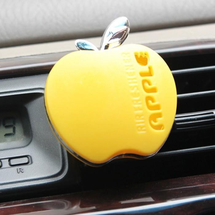 2016 Fashion parfum car-styling Flavor In The Car Perfume 100 Original Apple Shape Car Air Freshener For VW Ford Kia Renault