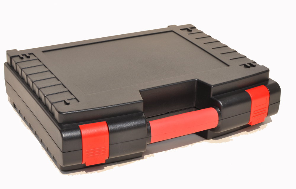 Impact resistant sealed waterproof safety case 263x206x106 mm tool equipmenst encosure box with wheels Foma Rohs approved 45-28