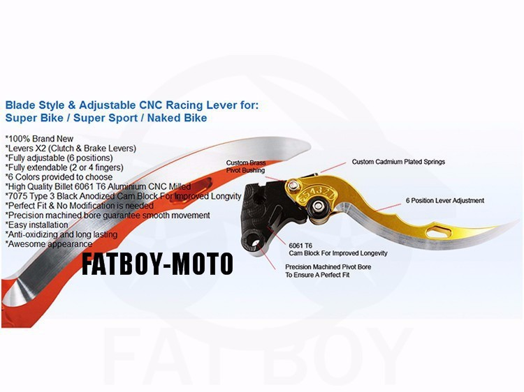 Buy 2015 new motorcycle bike  Benelli 300 600 knife brake clutch levers CNC cheap