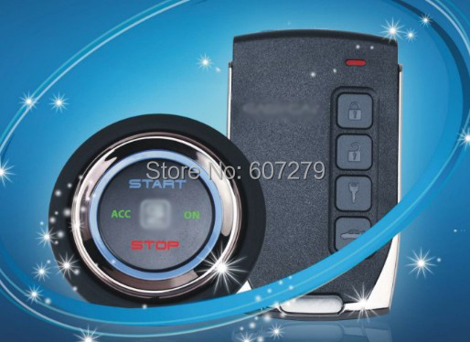 Car Alarm  Push Button Start Stop  Pke  Passive Keyless Entry