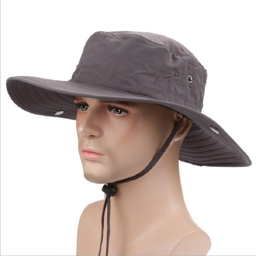 Cowboy style leisure sun protection cap summer quickdry breathable for unisex women and men wearing free size 95406(China (Mainland))