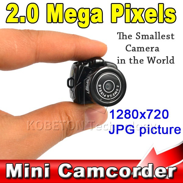 Hot sale Cmos Super Mini Video Camera Smallest Pocket Camera 640*480 480P DV DVR Camcorder Recorder Web Cam 720P JPG Photo(China (Mainland))