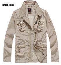 Hot 2016 New Fashion Peuterey Italy Men's brand fashion Multi pocket jacket coat Tops(China (Mainland))