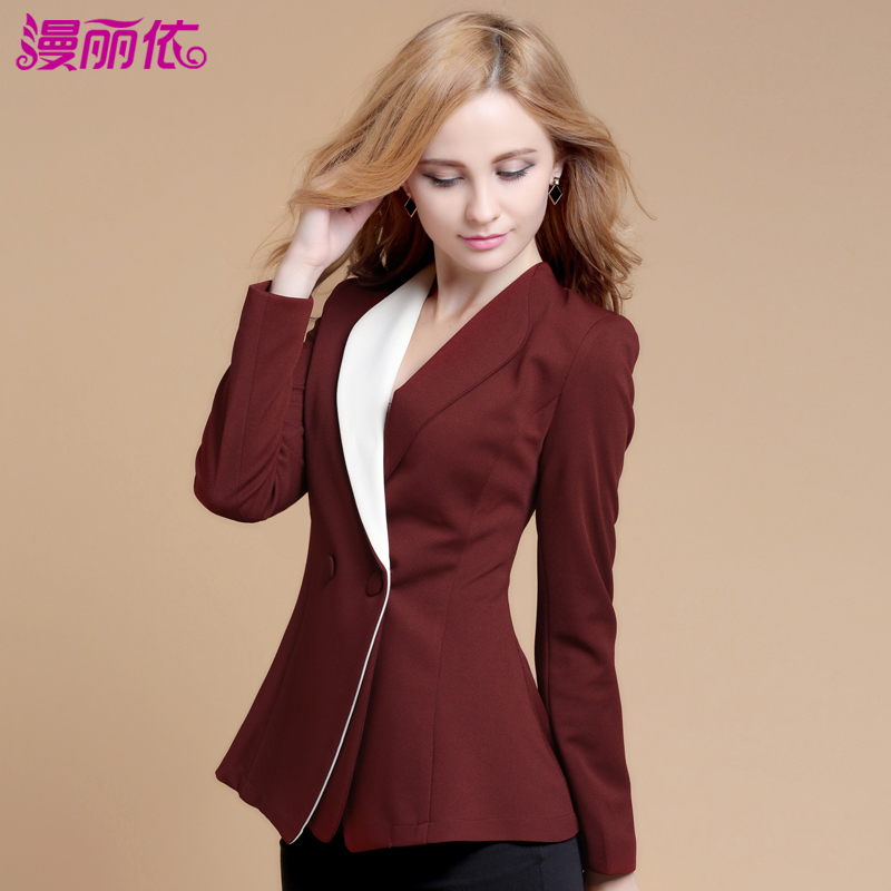 Black-White-Small-Suit-Women-Blazer-Jacket-2013-Autumn-Casual-Fashion-Short-Slim-Women-Blazers ...