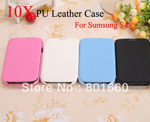 EMS Free Shipping! Kalaideng Enland Series PU+Microfiber Ultra Thin Flip Leather Case For Samsung Galaxy S4 i9500