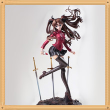 Approx 26.5cm Rin Tohsaka Japan Anime Fate Stay night Unlimited Blade Works PVC Action Figure