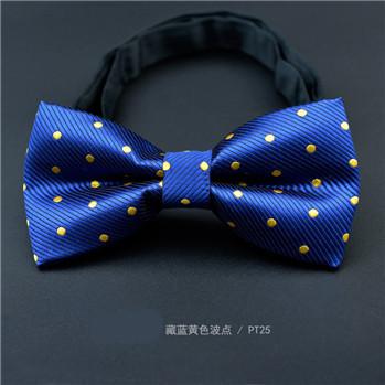 CityRaider Brand Slim Silk Blue Bow Tie 2016 New Dot Print Pajaritas Hombre Slik Bow Ties For Men Wedding Bowtie 40 Colors LD069(China (Mainland))