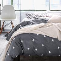 High count density cotton Duvet covers set,Black bedding set,Double single duvet covers Twin/Queen/King size,bedclothes #HM4515