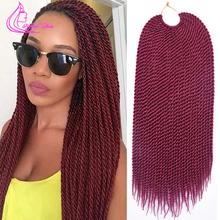 "18"" 30 Strands 75g/pack Best Quality Crotchet Braids Ombre Kanekalon Braiding Hair Crochet Braids Box Braids Hair Extensions(China (Mainland))"