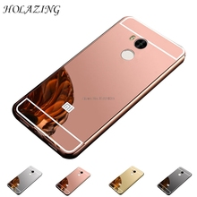Buy HOLAZING 2 1 Detachable Metal Aluminum Bumper Frame Case Xiaomi Redmi 4 Pro (3G RAM+32G ROM) Mirror Back Hard Cover for $2.08 in AliExpress store