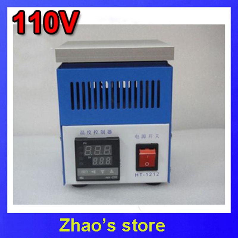 HONTON HT-1212 BGA Rework Preheating Oven Preheating Station Pre-heater 110V(China (Mainland))