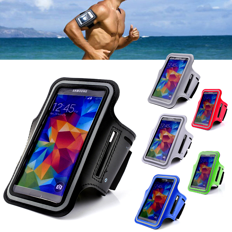 GYM Running Sports Armband for Samsung Galaxy S5 i9600/S6 G9200 for HTC M7 for Nexus 5 for Xperia Z L36h for Lumia 920 Armband