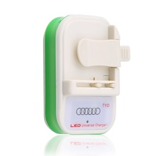 1pcs  USB Connection port Universal battery Wall charger With For Smart Phone Newest Drop Shipping Wholesale(China (Mainland))