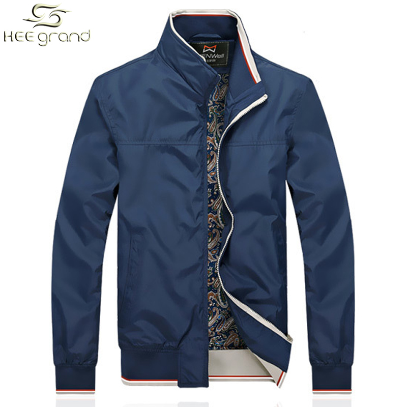 Men's Jacket Spring Autumn Fashion Coat Stand Collar Waterproof Casual Style Outdoors Outwear MWJ1762(China (Mainland))