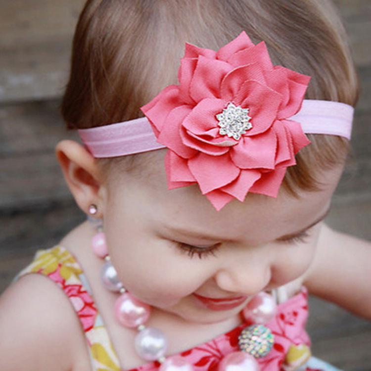 Украшение на волосы для девочек своими руками 543