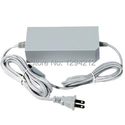 Free Shipping US Brand New AC Power Brick Adapter Wall Charger for Nintendo Wii 110V 220V