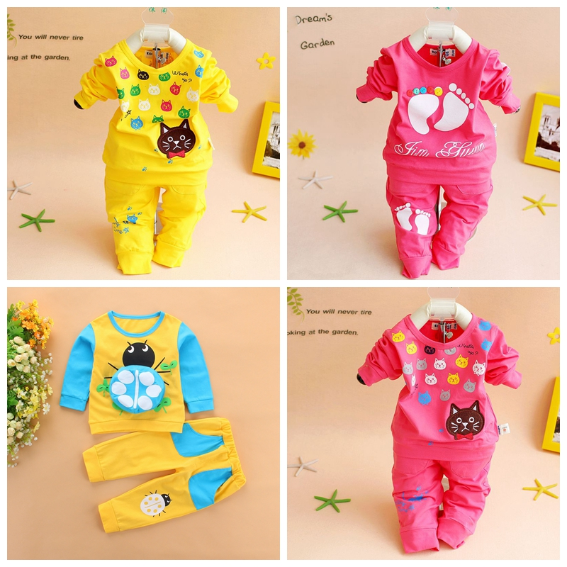 Babies & kids Baby girls boys clothing sets suits 0 1 2 3