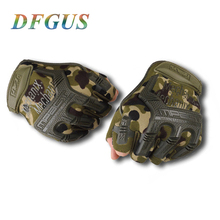 Buy Army Tactical Gloves Black Military Gloves Half Finger Gloves Slip Resistant Gloves Climbing Gym Workout for $5.27 in AliExpress store