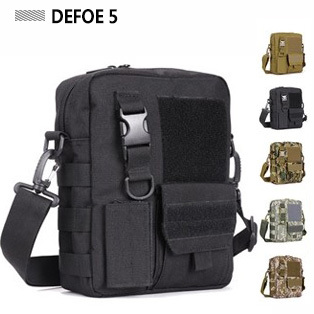Molle Satchel Messenger Shoulder Crossbody School Leisure Bag,USA Advance Defense Ultra-light Range Tactical Gear - DEFOE 5 Outdoors store