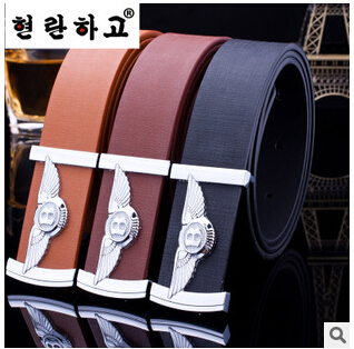 2015 New Fashion classical casual PU leather men belt for women all-match waist starp for female and male free shipping(China (Mainland))