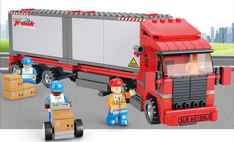 Lego ville camion achetez des lots petit prix lego ville - Modele de construction lego ...
