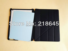 Blanks Leather Magnetic Flip Case For ipad 2 3 4 DIY Sublimation Cover Blanks Aluminum Plate+Sticke For ipad 2 3 4 Generations(China (Mainland))