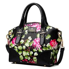 2016 tote handbags women shoulder bag women messenger bags ladies bolsa feminina flower clutch women leather handbags MU238
