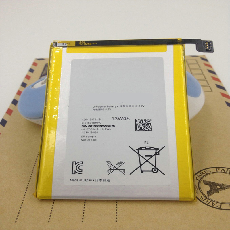 Free Shipping 2330mAh High quality Mobile Phone Replacement Battery For Sony Ericsson Xperia ZL L35H lt35i C6503 C6506
