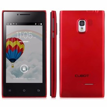 Original 4.0 inch Cubot GT72+ Dual Core Android 4.4 MTK6572 Smart Cell Phone 3G WCDMA Dual Camera Dual Sim Cards/Standby