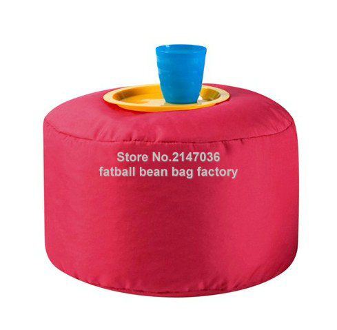 Red bean bag footstool, tea port beanbag cushion(China (Mainland))