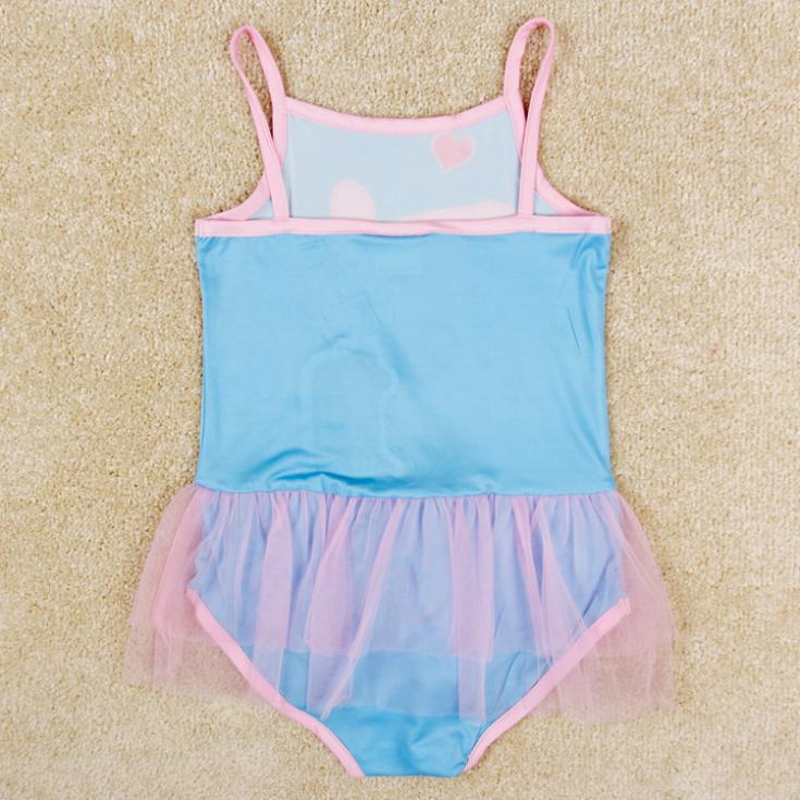 fashion 2 8T blue swimsuit for baby girls,children summer ...