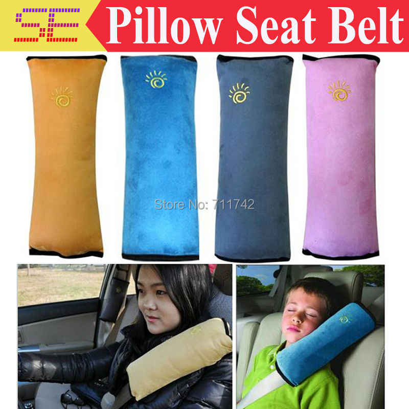 1pcs Free Shipping New Child Kid Car Safety Harness Pillow Seat Belt Shoulder Cover Car Shoulder Pad(China (Mainland))