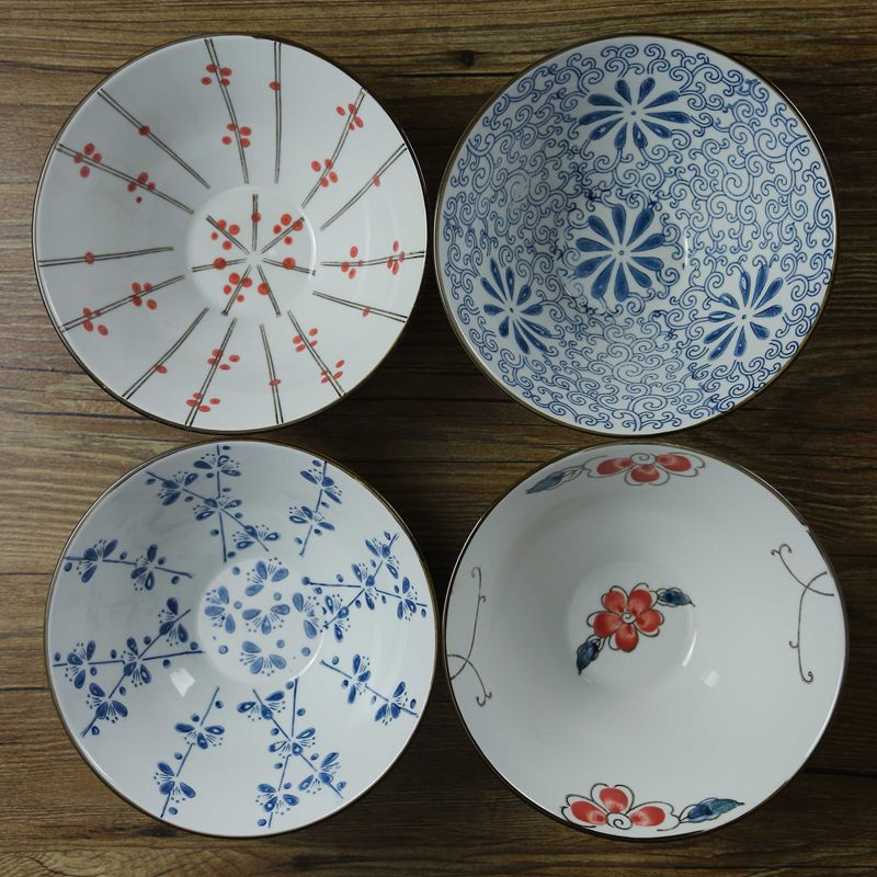 Free Shipping Ceramic bowl wholesale Household couples suite(China (Mainland))
