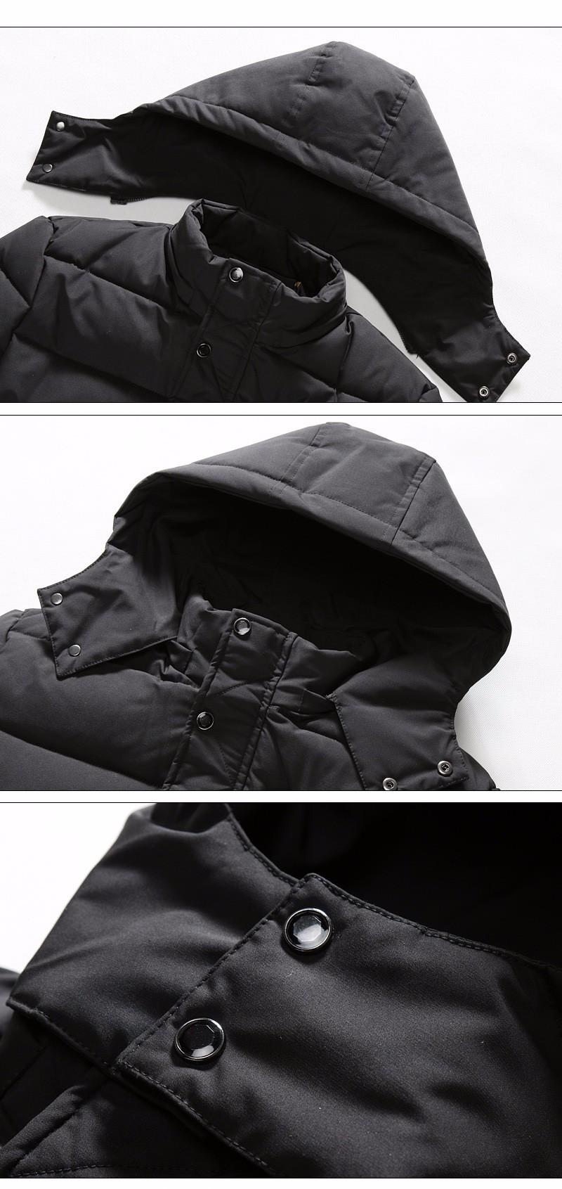 Скидки на Плюс Размер M-4XL 5XL Длинные Зимние Куртки Мужские С Капюшоном Теплая пальто Мужчины 2016 Новая Мода Тонкий Снег Парки Толстые Высокие качество