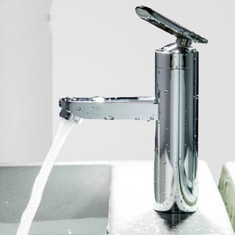 100%New Home faucet Two Hole Basin Hot/Cold Bathroom faucet Bathtub Wash Basin Mixer Water Taps Hardware grifo lavabo(China (Mainland))