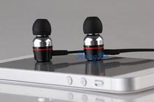 Freeshipping Super bass clear voice earphone Metal Ear Headphones Mobile Computer MP3 Universal 3 5MM headphone