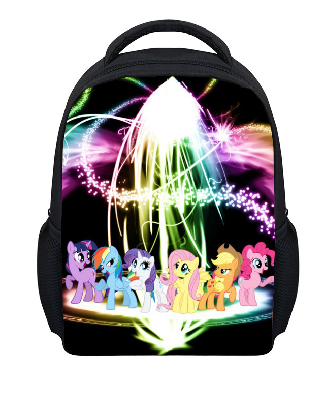 2015 Brand Cartoon lIttle Pony Girls School Backpacks Trendy Children Mini Outdoor Backpack Boys Gifts,Cute Horse Bag - KIDS FOR YOU,CO.,LTD store