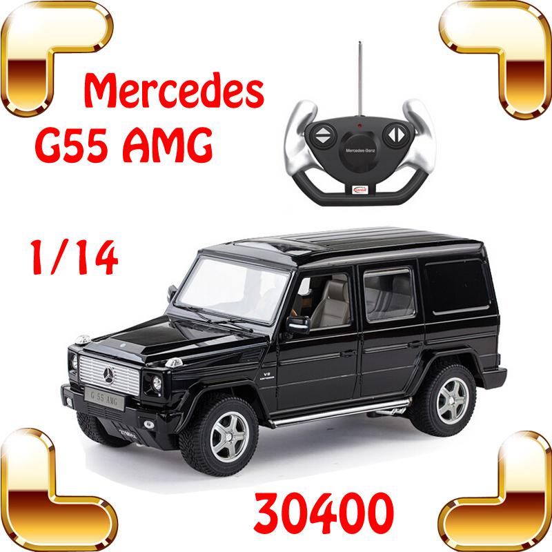New Year Gift Rastar 30400 1/14 Mercedes G55 AMG RC Radio Control Car Motor Electric Machine Toy Fun Drive Vehicle Drift Moving(China (Mainland))