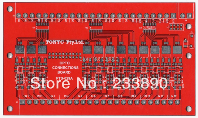 PCB prototype printed circuit board prototyping for LED dac-19m009