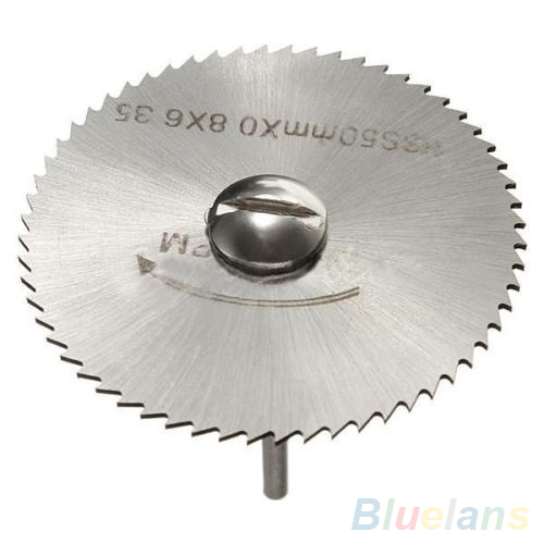 7Pcs HSS Rotary Tools Circular Saw Blades Cutting Discs Mandrel Cutoff Cutter Power tools multitool 1ON7