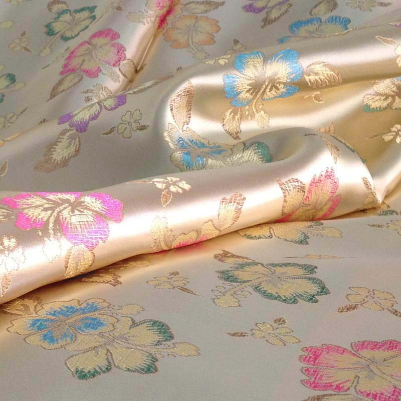 Jacquard Tapestry Brocade Fabric Meter, Width 90CM,Decorative Tissue Fabric for Gift Packing Sewing Accessories Damask Cloth(China (Mainland))